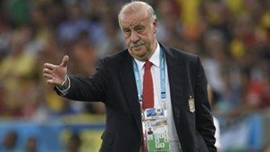 Vicente del Bosque Spain Chile WC 2014