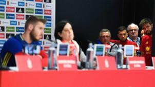 David De Gea Spain Press Conference
