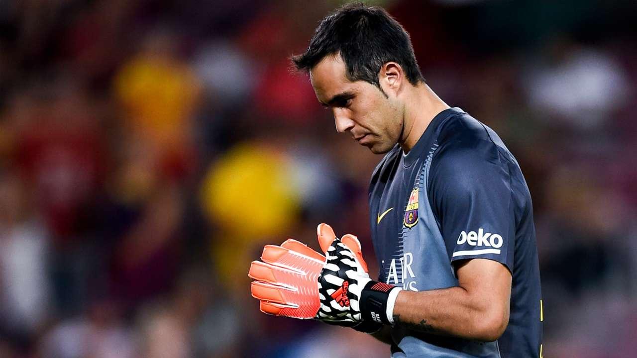 Claudio Bravo Barcelona La Liga