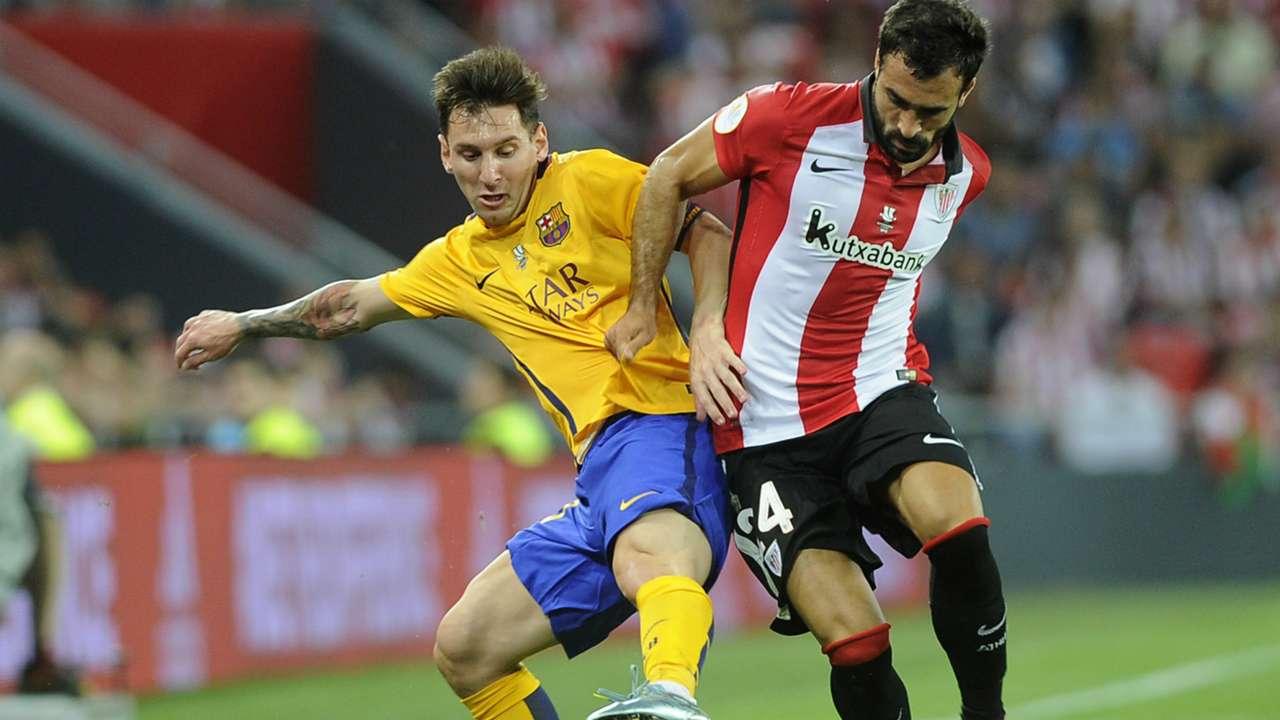 Messi Athletic Barcelona Supercopa ESP