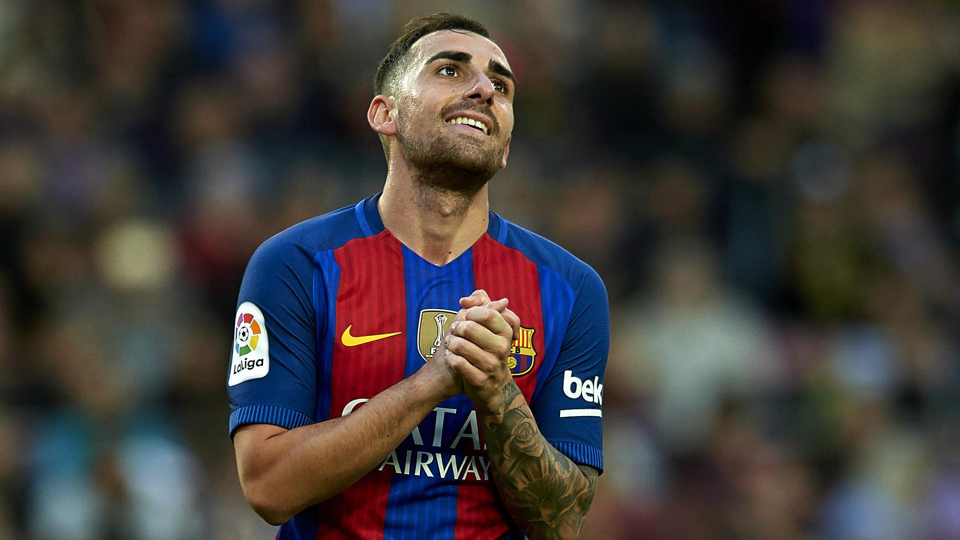Paco Alcacer Barcelona Malaga LaLiga 19112016