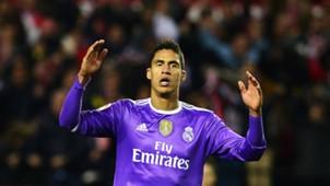 Raphael Varane Sevilla Real Madrid La Liga 15012017