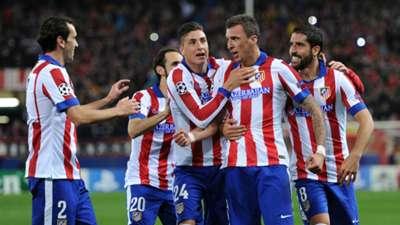 Mario Mandzukic Atletico Madrid Olympiakos UEFA Champions League 11262014