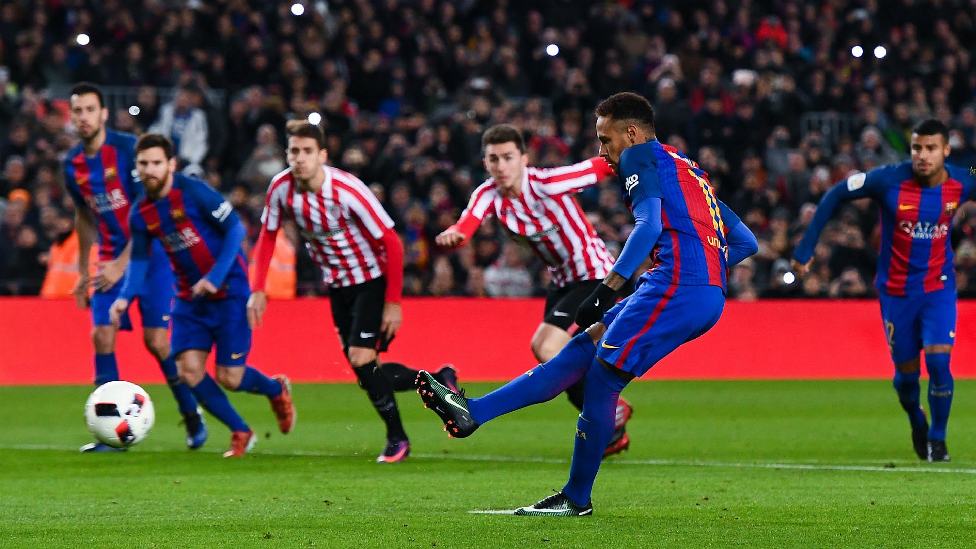 Neymar Iniesta Barcelona Athletic Bilbao Copa del Rey 1112017