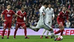 James Rodriguez Real Madrid Sevilla Copa del Rey