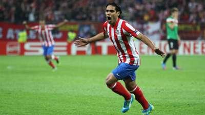 Radamel Falcao Atletico Madrid Athletic Club Europa League 05092012