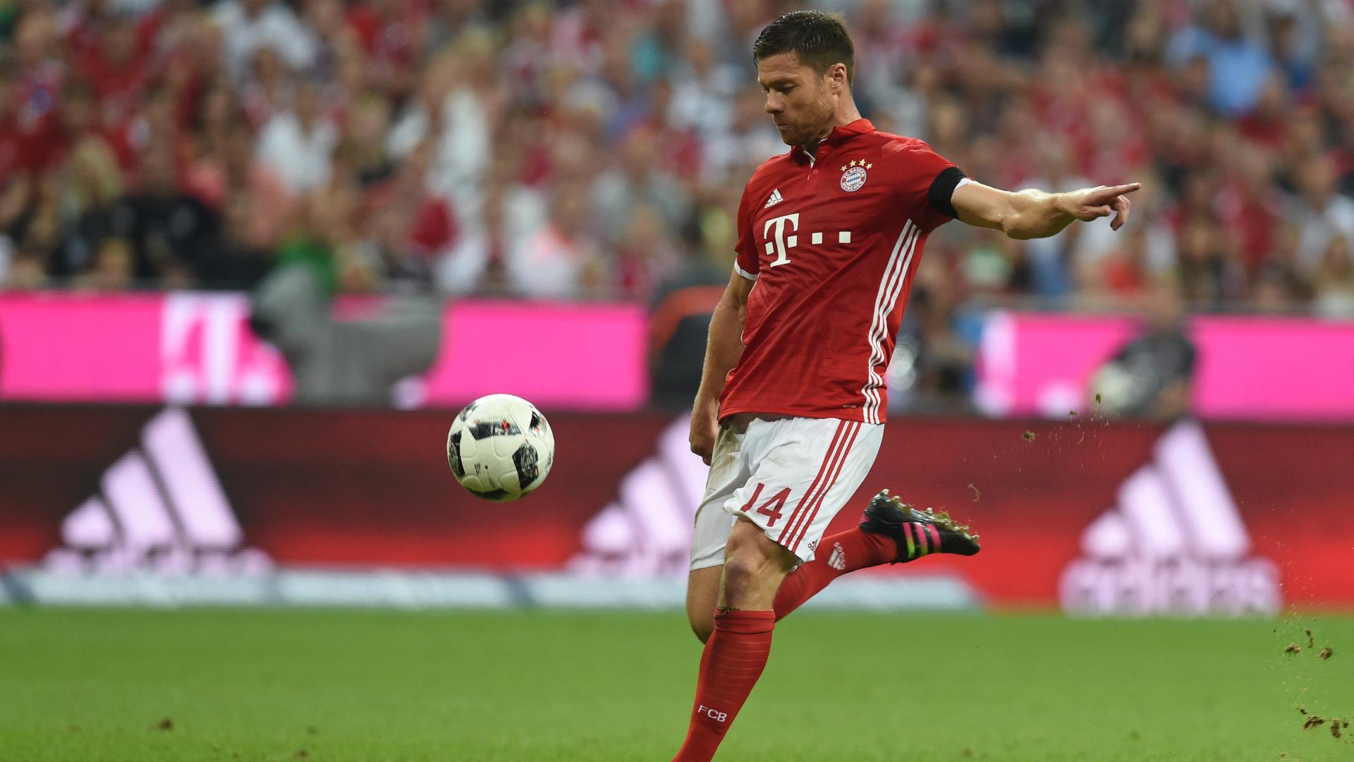 Xabi Alonso Bundesliga Bayern Bremen 260816