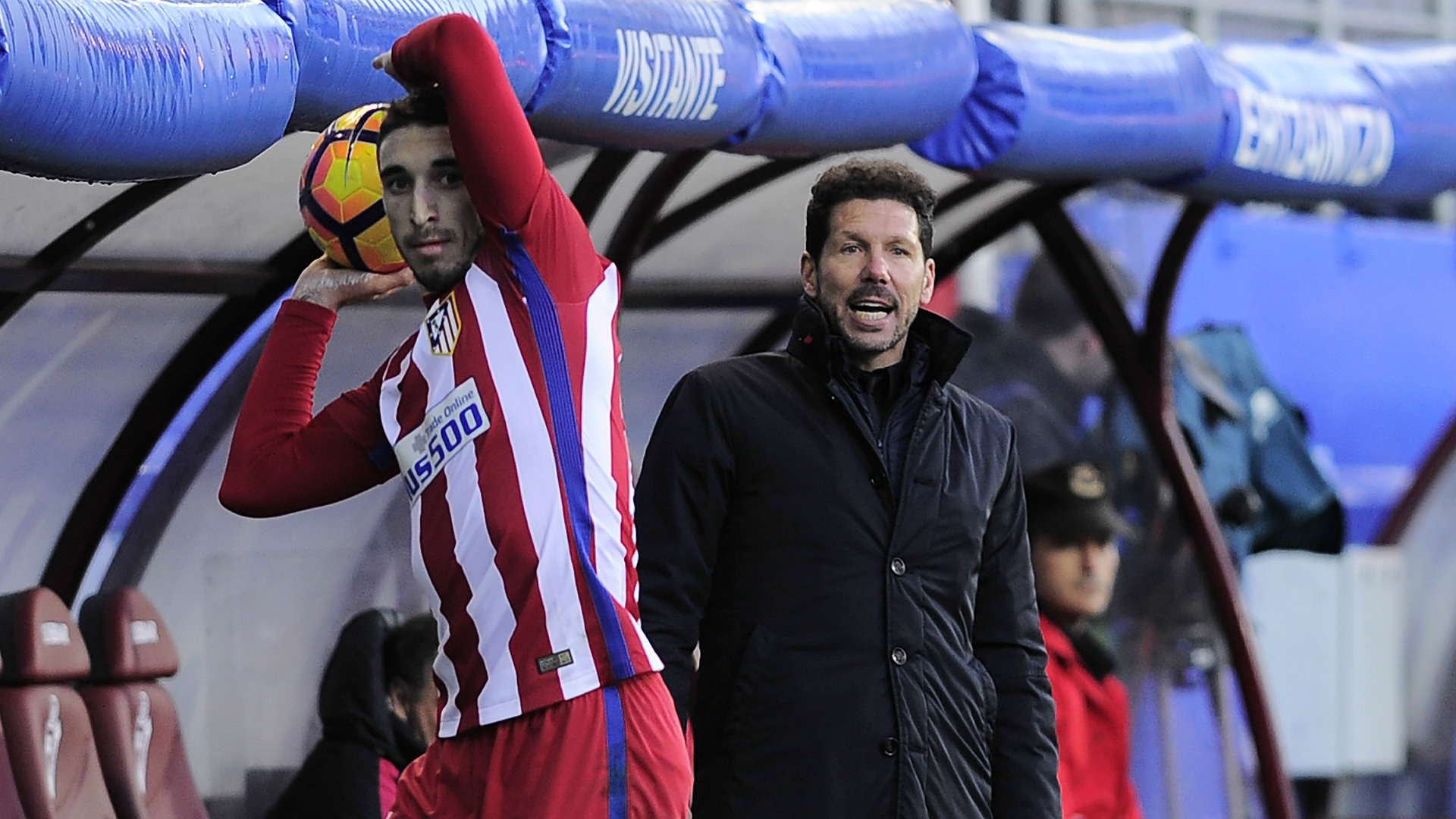 Diego Simeone Eibar Atletico Madrid LaLiga 07012016
