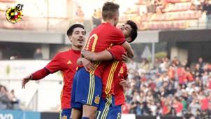 Marco Asensio Denis Suarez Bellerin España Sub 21