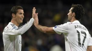 Cristiano Ronaldo Alvaro Arbeloa Real Madrid Ludogorets UEFA Champions League 12092014