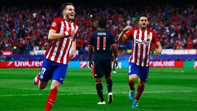 Saul Niguez Koke Atletico Madrid Bayern Munich 270416