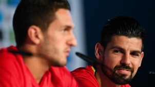 Nolito Koke Spain press conference UEFA EURO 2016