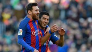 Lionel Messi Luis Suarez Barcelona Las Palmas La Liga
