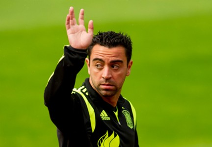Xavi Hernandez Spain Barcelona