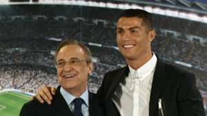 Cristiano Ronaldo Florentino Perez Real Madrid renewal