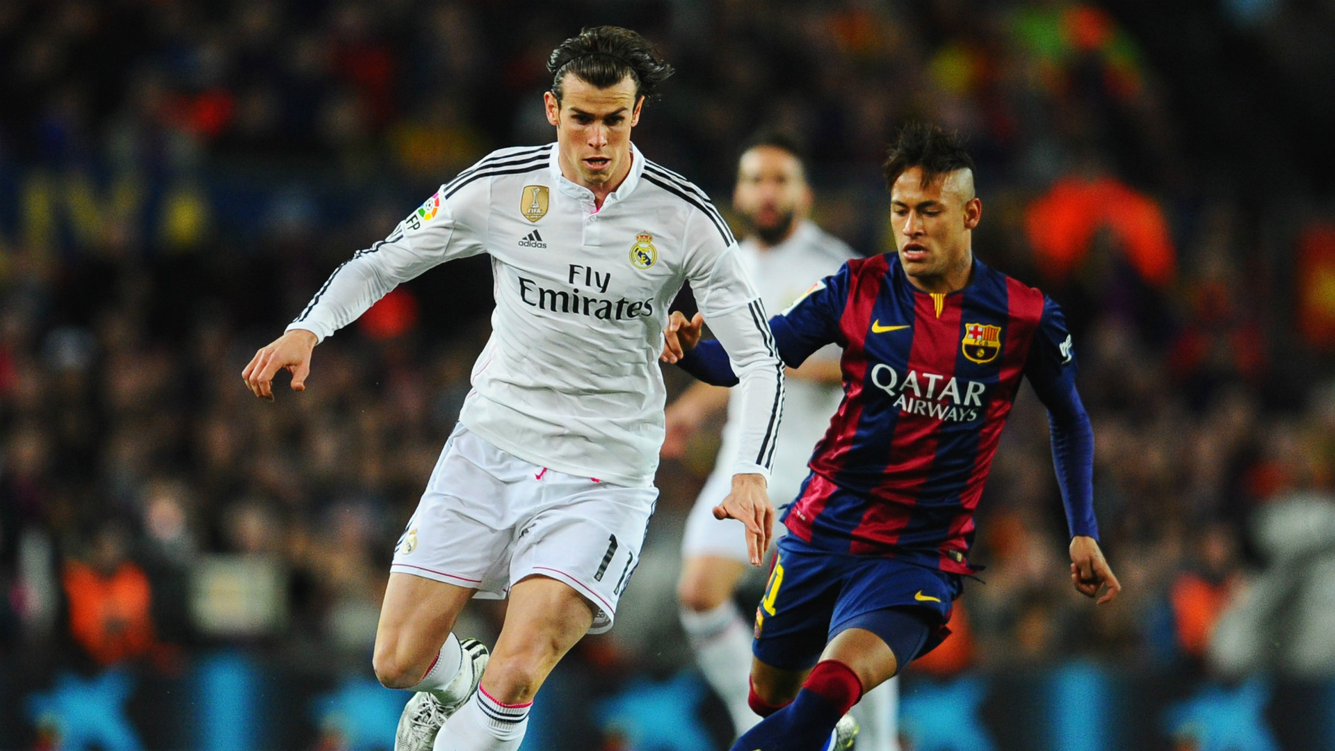 Neymar Gareth Bale Barcelona Real Madrid La Liga