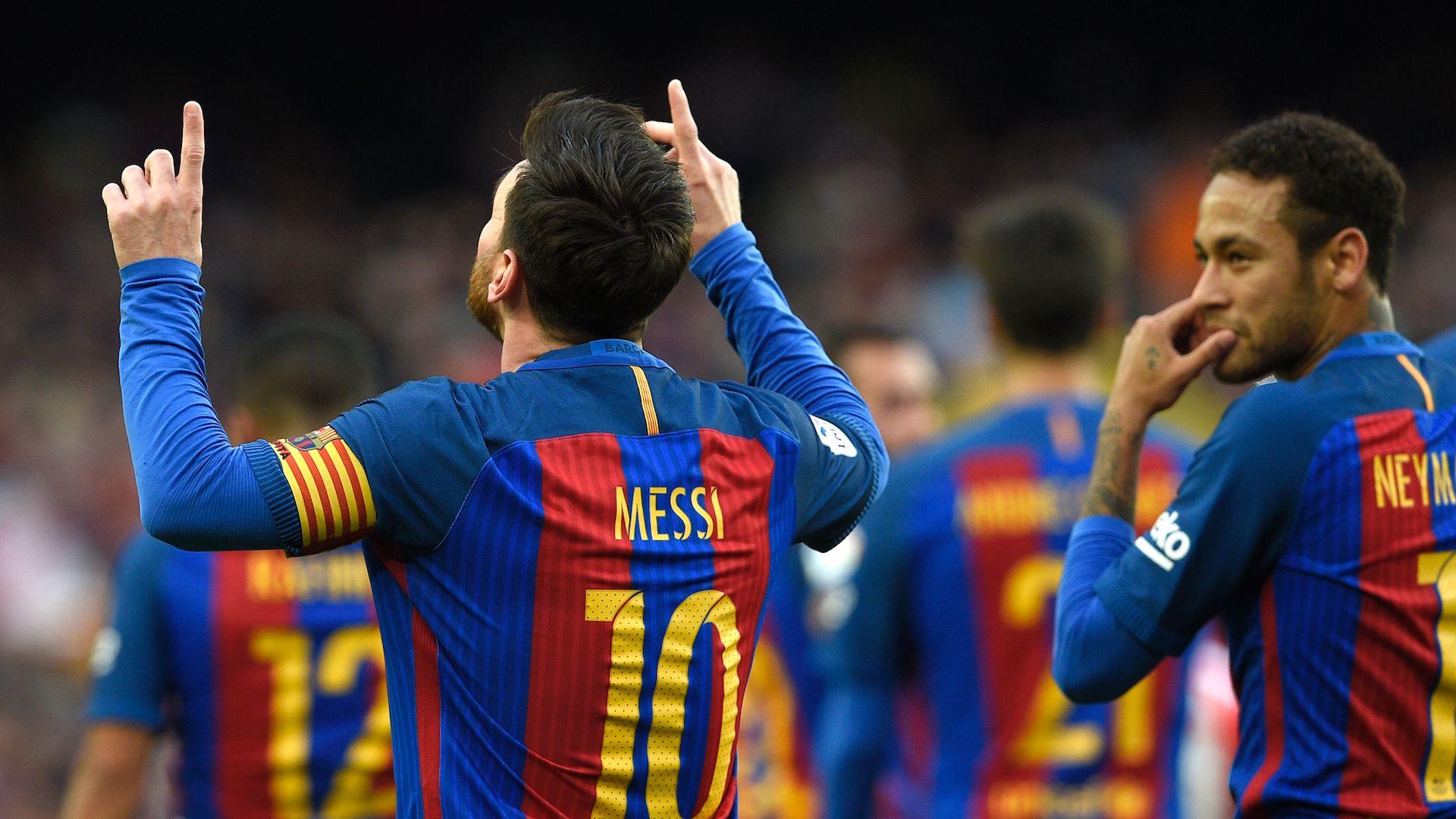 Neymar Messi FC Barcelona Athletic LaLiga