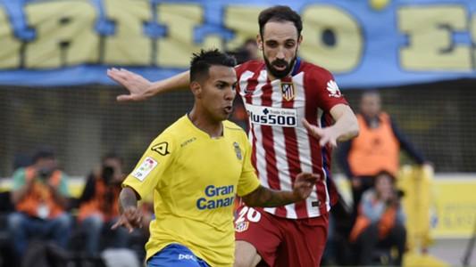 Juanfran Jonathan Viera Las Palmas Atlético Madrid 17012016