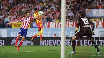 Neymar Atletico Madrid Barcelona Agosto de 2013