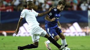 Mariano Rybus Sevilla Olympique Lyon Champions League