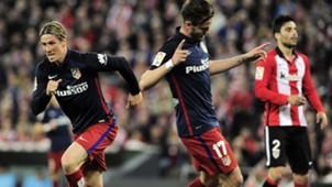 Fernando Torres Saul Niguez Athletic Atletico Madrid 200416