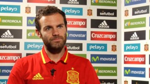 Juan Mata, Spain and Manchester United player, during the exclusive interview with Goal