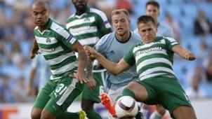John Guidetti Robin Lod Rodrigo Moledo Celta Panathinaikos UEFA Europa League