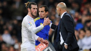 Zinedine Zidane Gareth Bale Real Madrid Deportivo Coruna La Liga 09012016