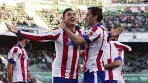 Jose Maria Gimenez Diego Godin Elche Atletico Madrid Liga BBVA 12062014