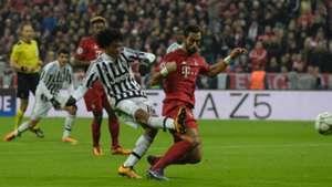 Juan Cuadrado Bayern Munich Juventus Champions League