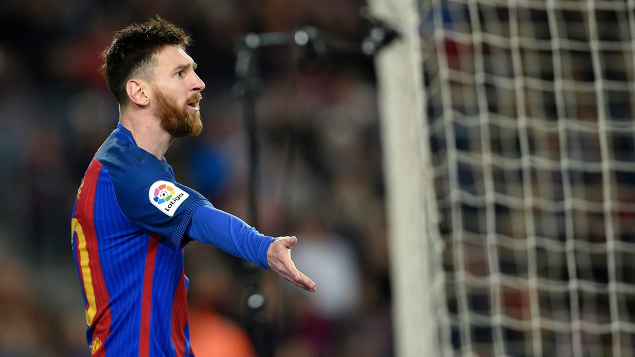 Lionel Messi Barcelona Sporting Gijon LaLiga