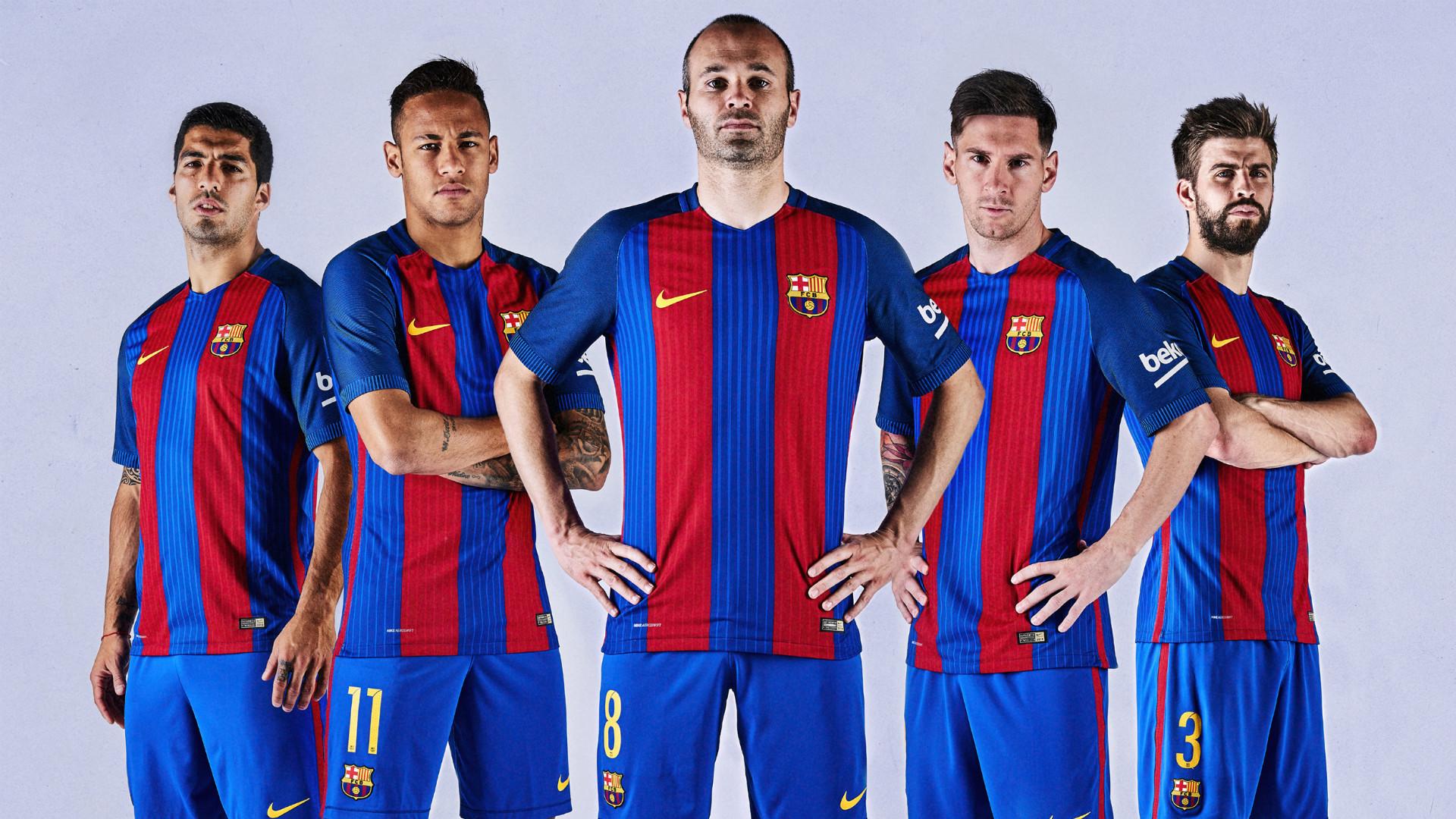 BARCELONA NEW JERSEY 2016 2017 Goalcom