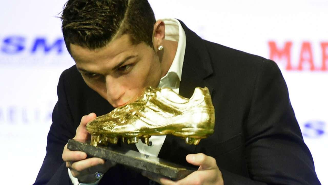 Cristiano Ronaldo Real Madrid Bota de Oro