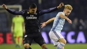 Daniel Wass Casemiro Celta Real Madrid Copa del Rey