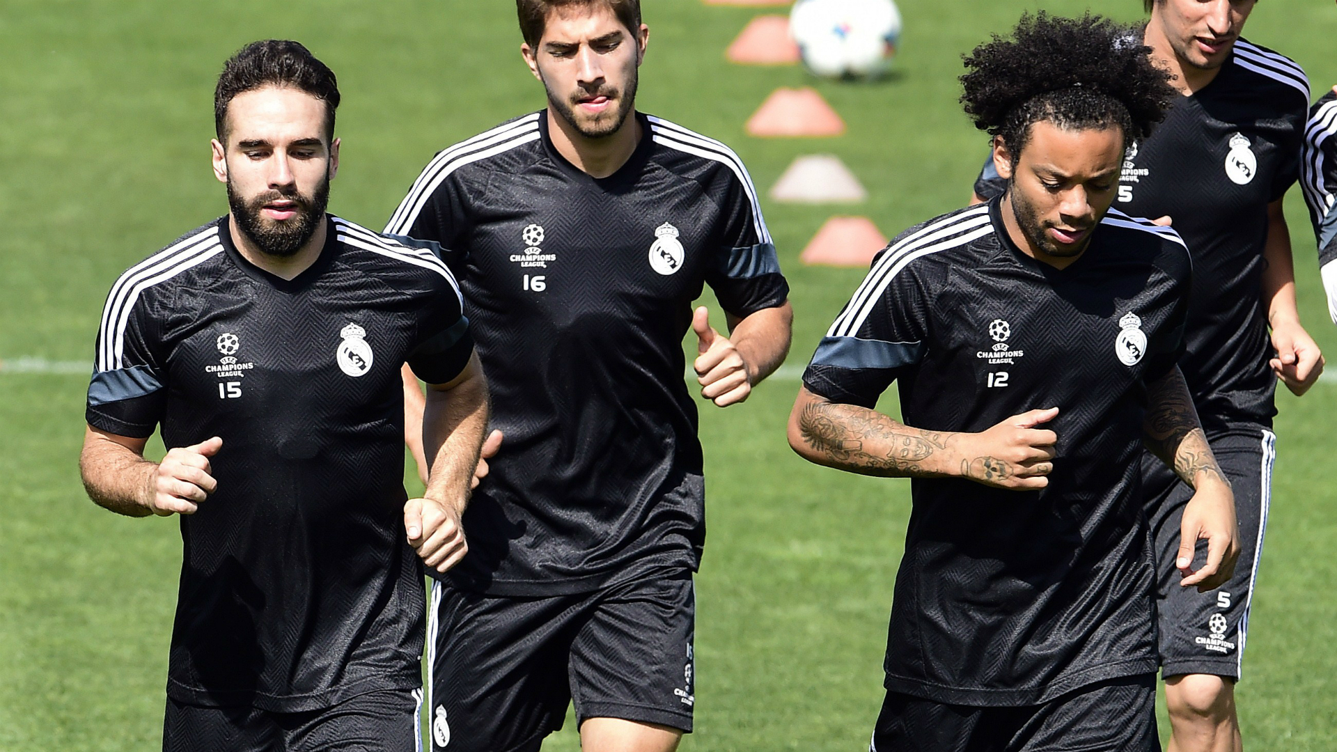 Daniel Carvajal Marcelo Real Madrid 07072015