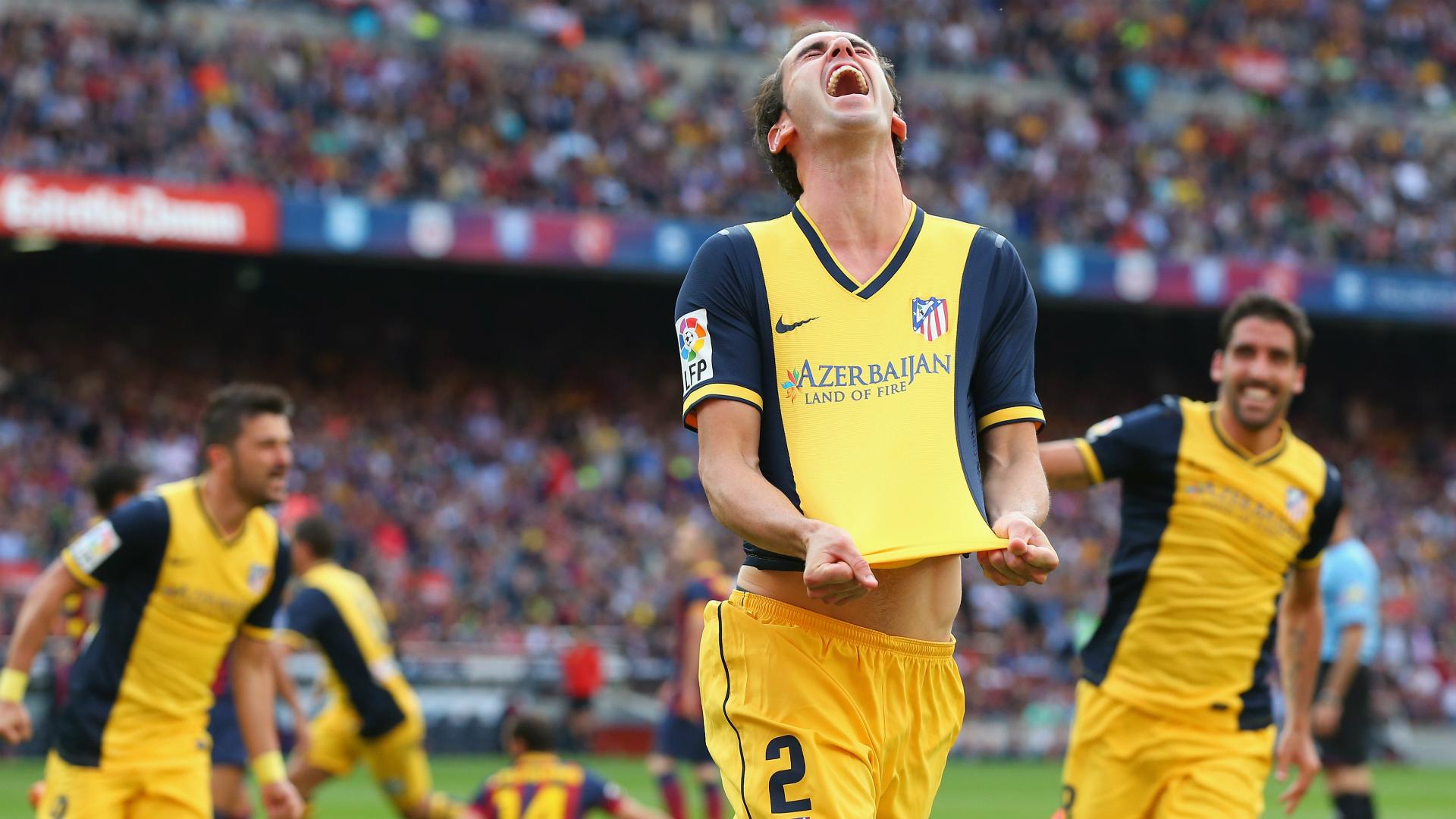 Diego Godin Barcelona Atletico Madrid La Liga 2014