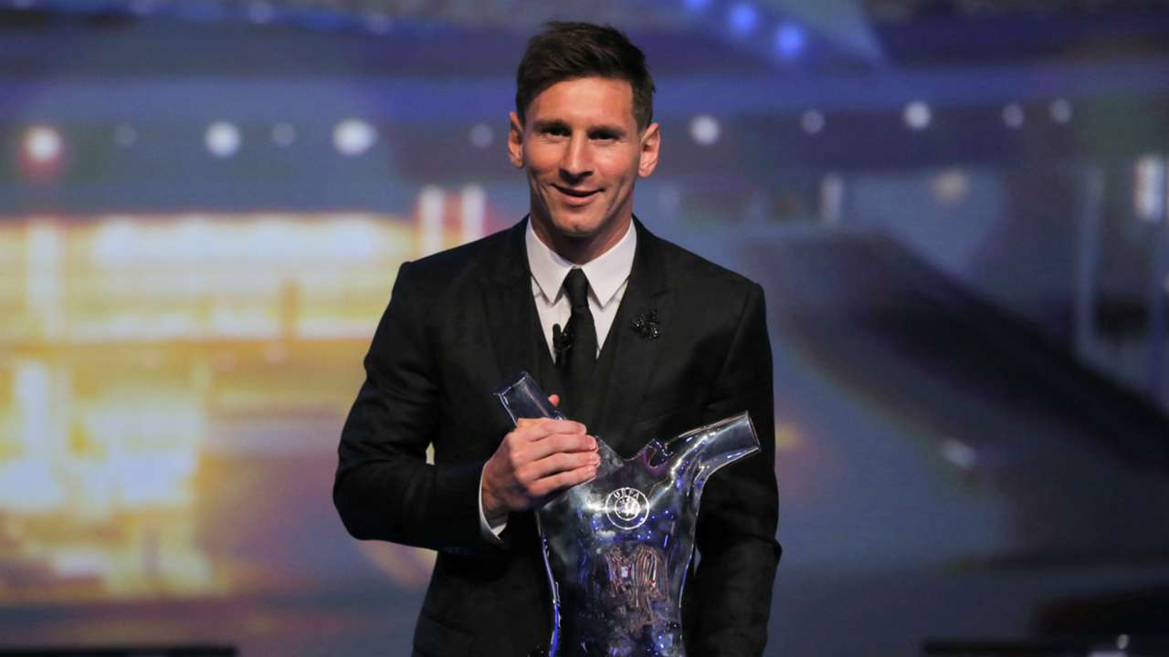 Lionel Messi UEFA Award