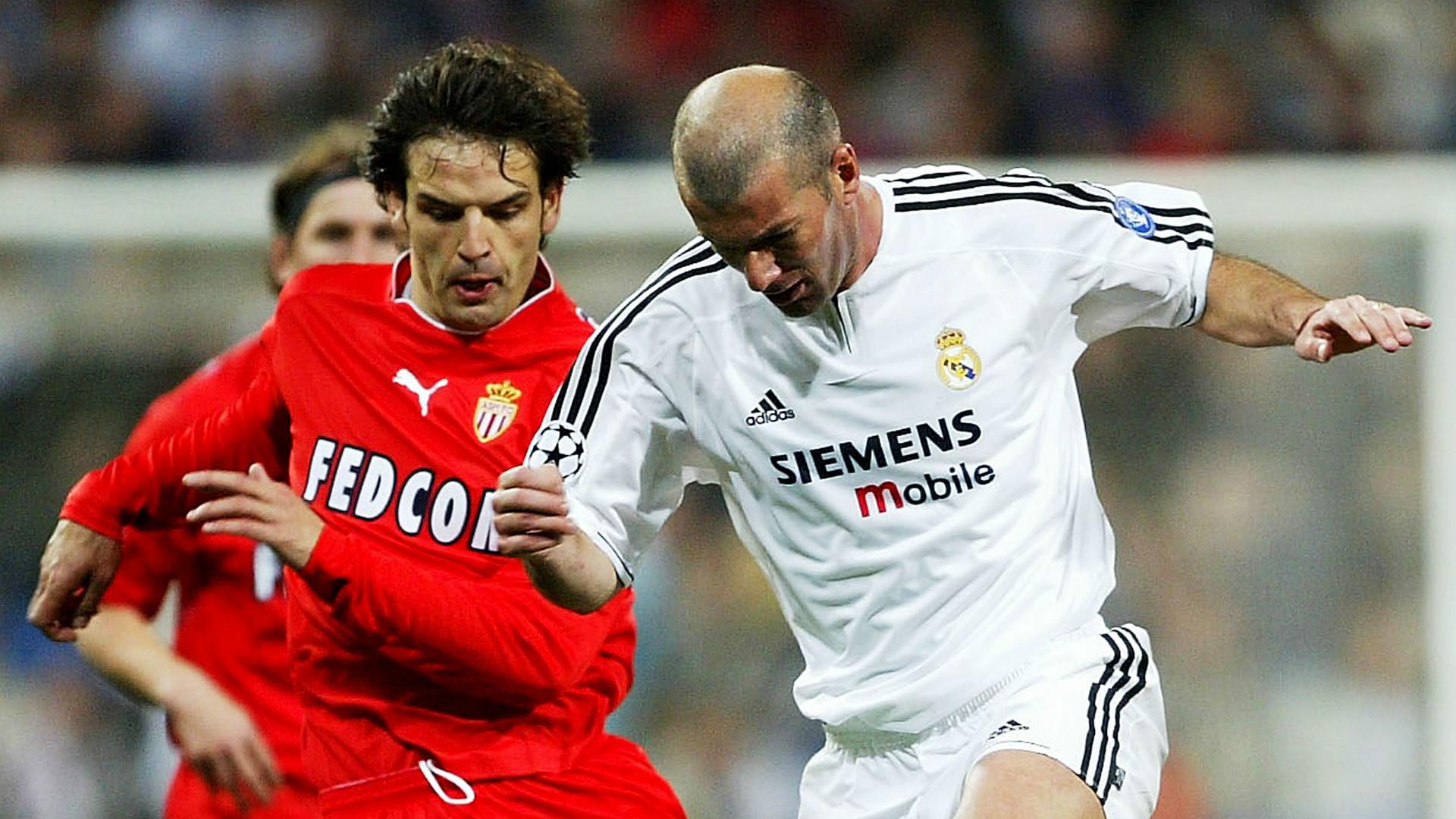 Fernando Morientes Zinedine Zidane Real Madrid Monaco 03242004