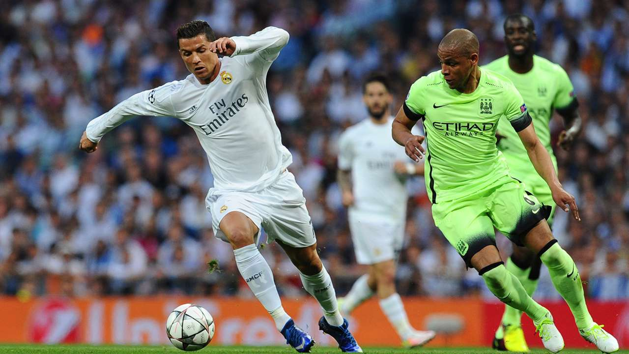 Cristiano Ronaldo Real Madrid Manchester City 04052016