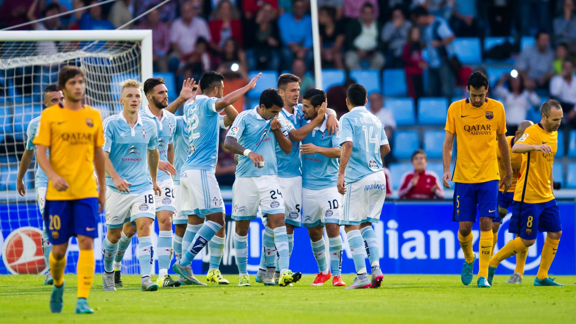 Nolito Celta Vigo Barcelona La Liga 09232015