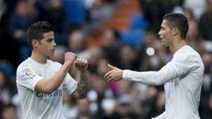 Cristiano Ronaldo James Rodriguez Real Madrid Real Sociedad La Liga 12302015