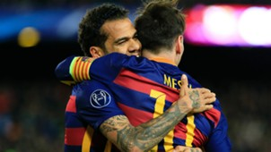 Alves Leo Messi Amigos