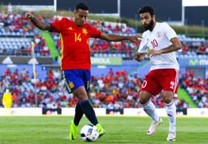 Thiago Alcantara Spain Georgia Friendly 07062016