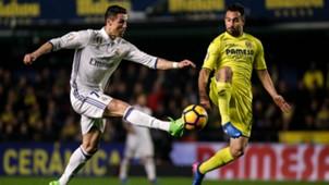 Mario Gaspar Cristiano Ronaldo Villarreal Real Madrid LaLiga 26022017