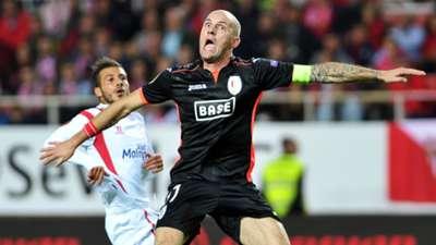 Diogo Figueiras Jelle Van Damme Sevilla Standard Liege Europa League