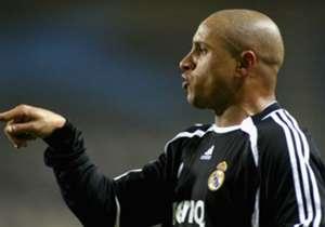 Roberto Carlos llegó en 1996 al Real Madrid después de una temporada en el Inter de Milán. En el Bernabéu se convirtió en ídolo de la afición