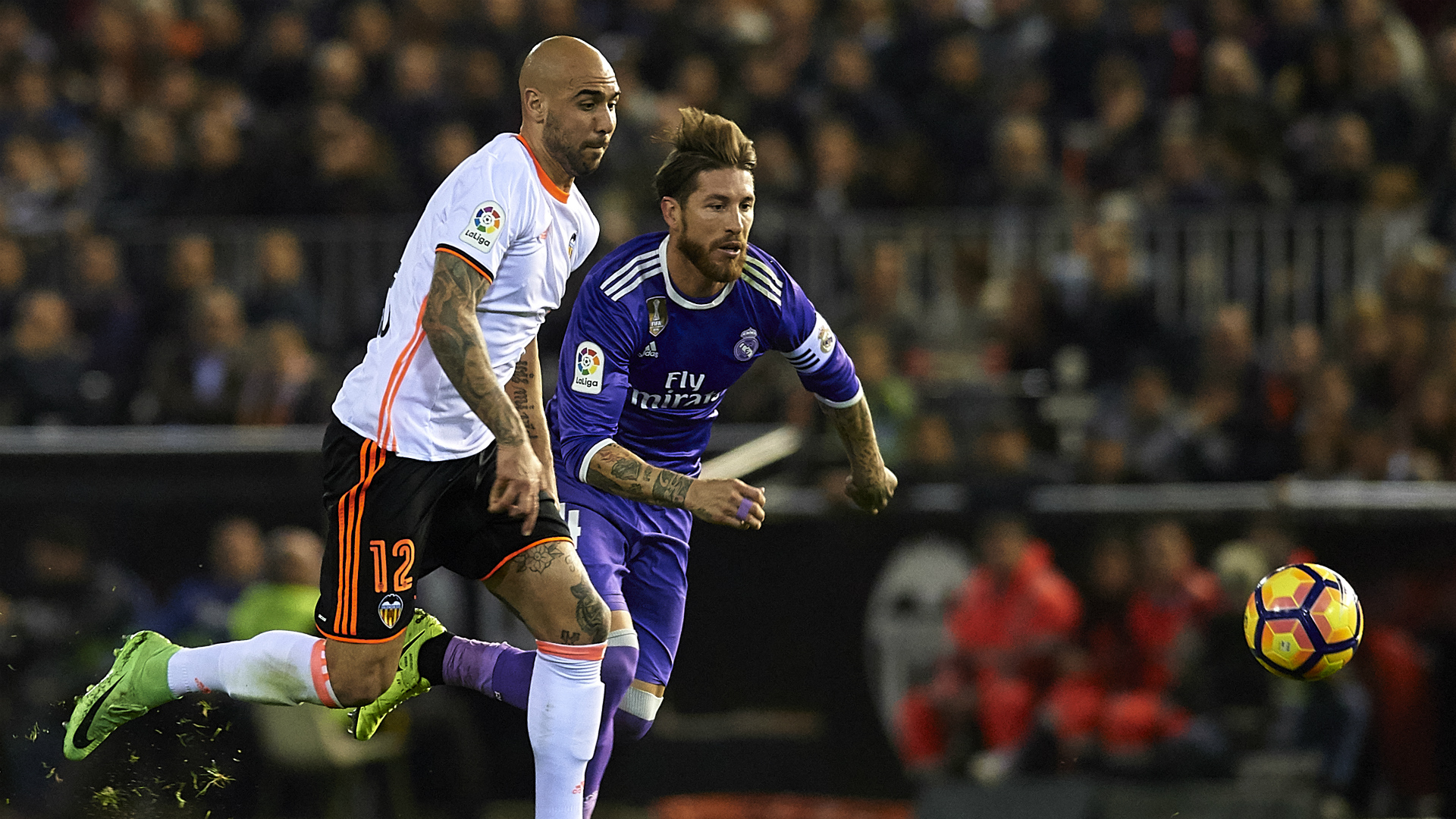 Zaza Ramos Valencia Real Madrid