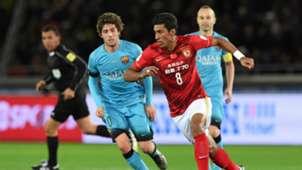 Sergi Roberto Paulinho Barcelona Guangzhou World Cup 17122015