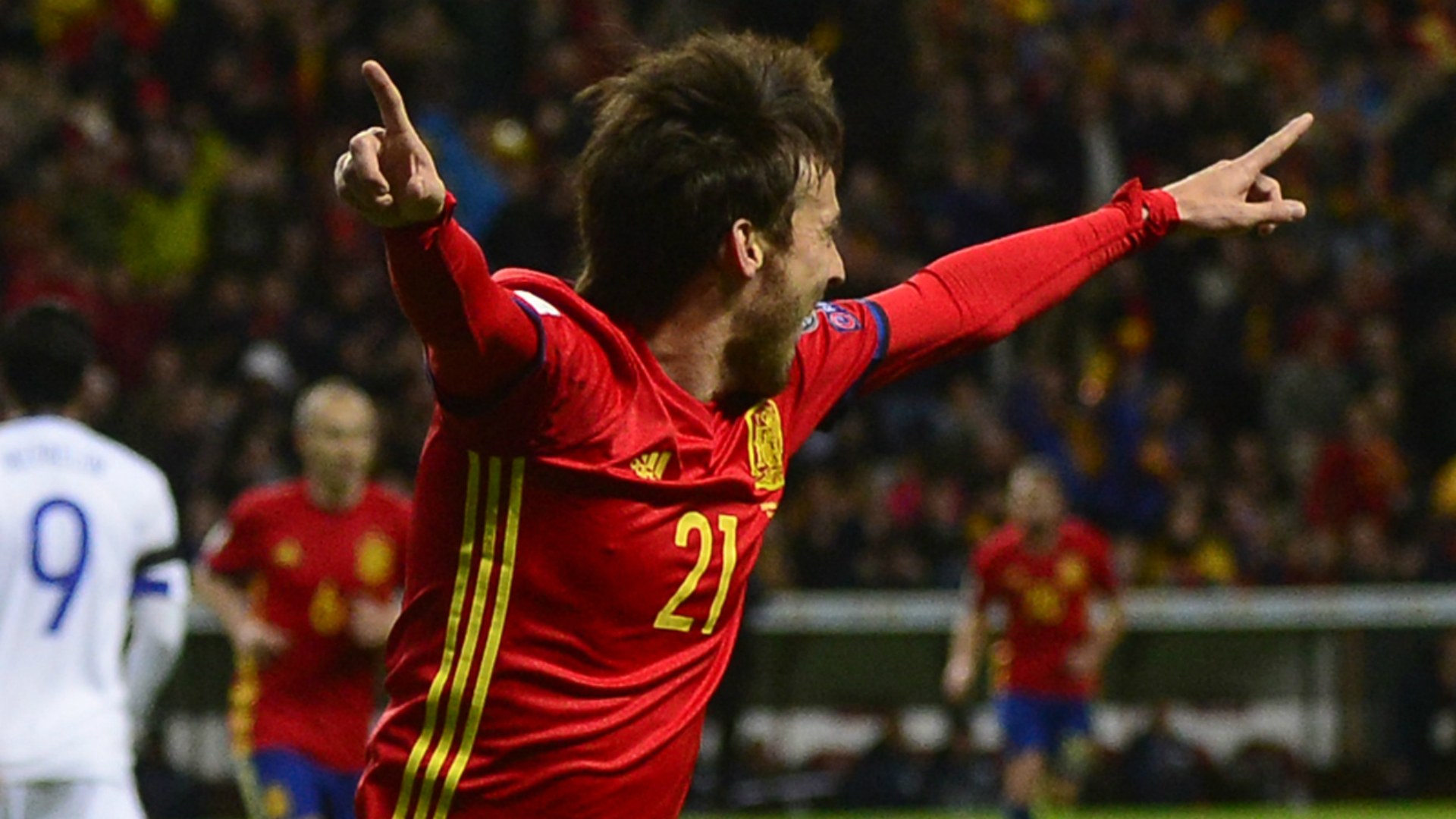 David Silva Spain Israel WC Qualifier