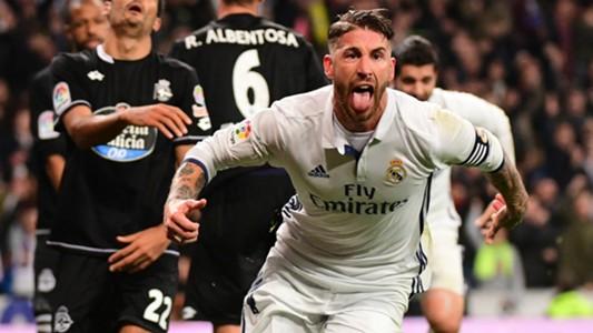 Sergio Ramos Real Madrid Deportivo Coruna LaLiga 10122016